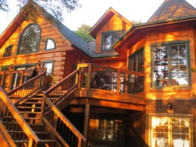 Muskoka Whispering Pines True North Log Cabin