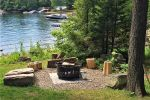 Pristine Kennisis Lake with Large Deck, Dock and Plenty of outdoor entertaining areas.